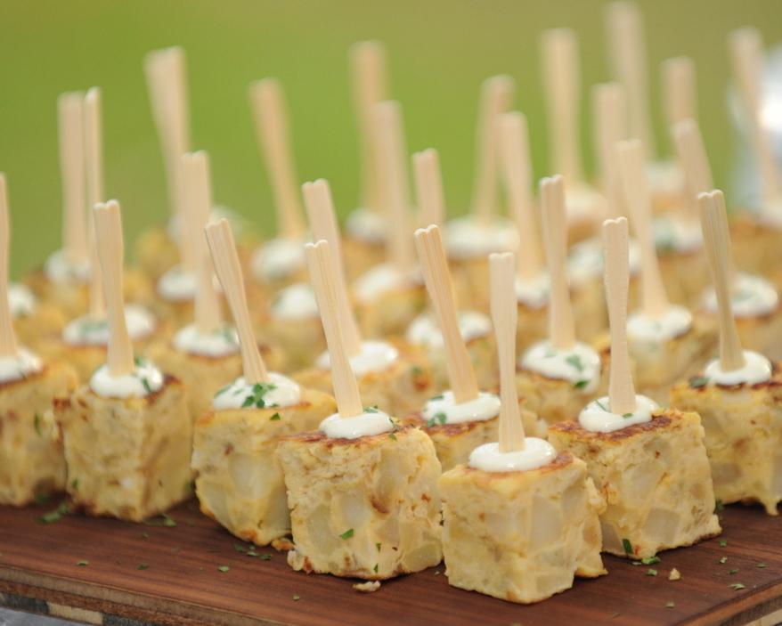 Spanish omelette on your Wedding