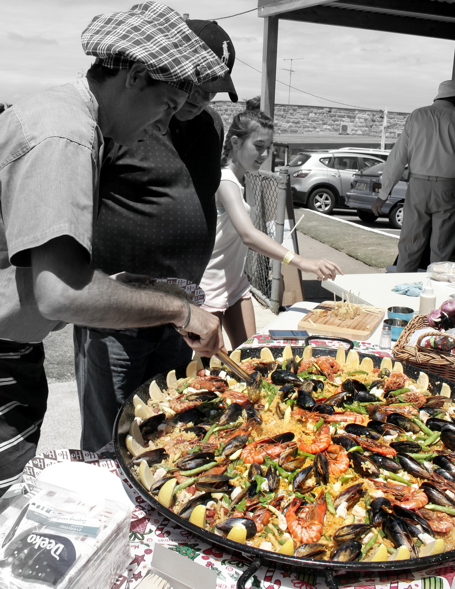 Paella for bithday party