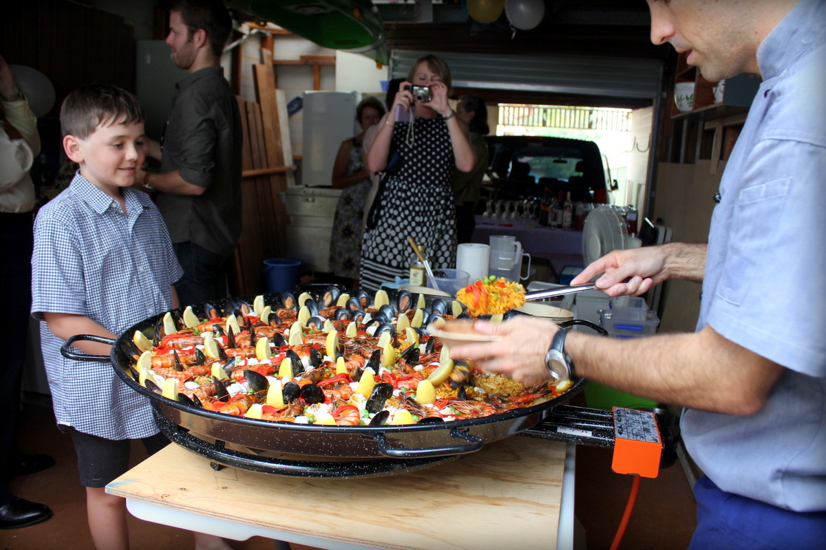 Spanish catering Central Coast