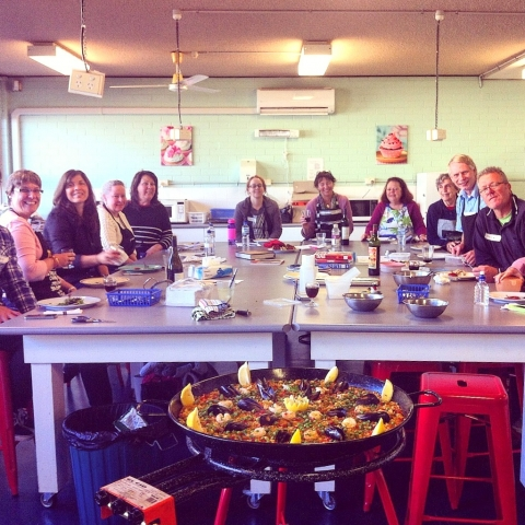 Paella and tapas workshop