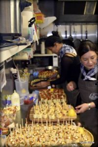 pintxos for Corporate event