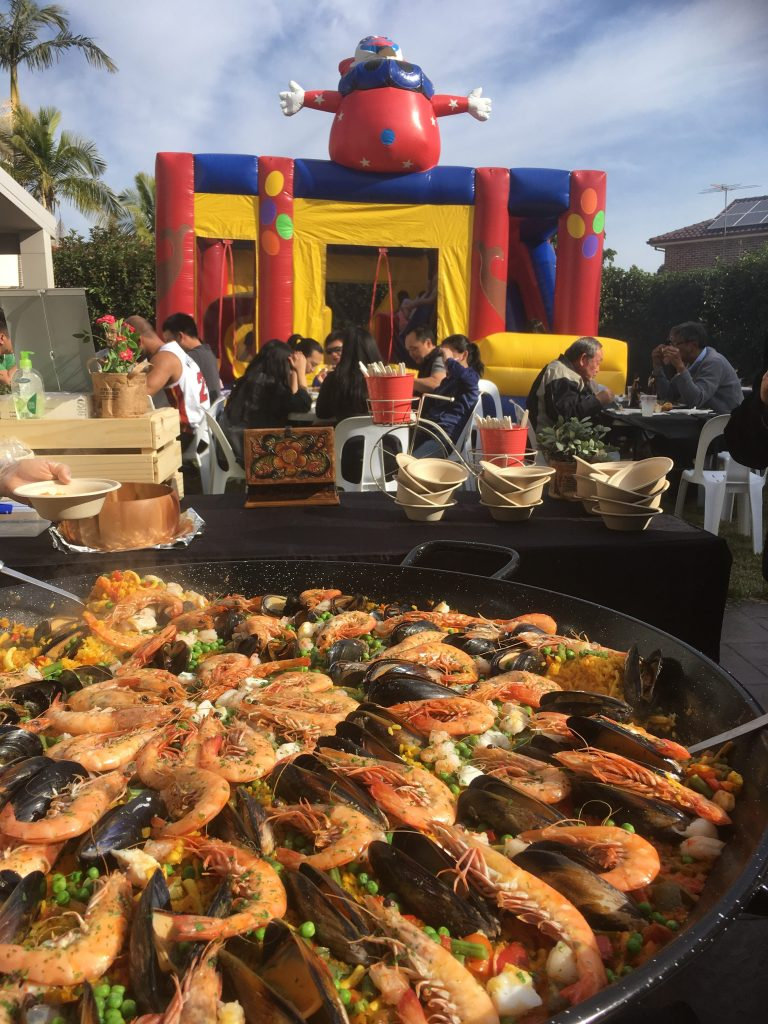 Spanish catering for kids celebrations