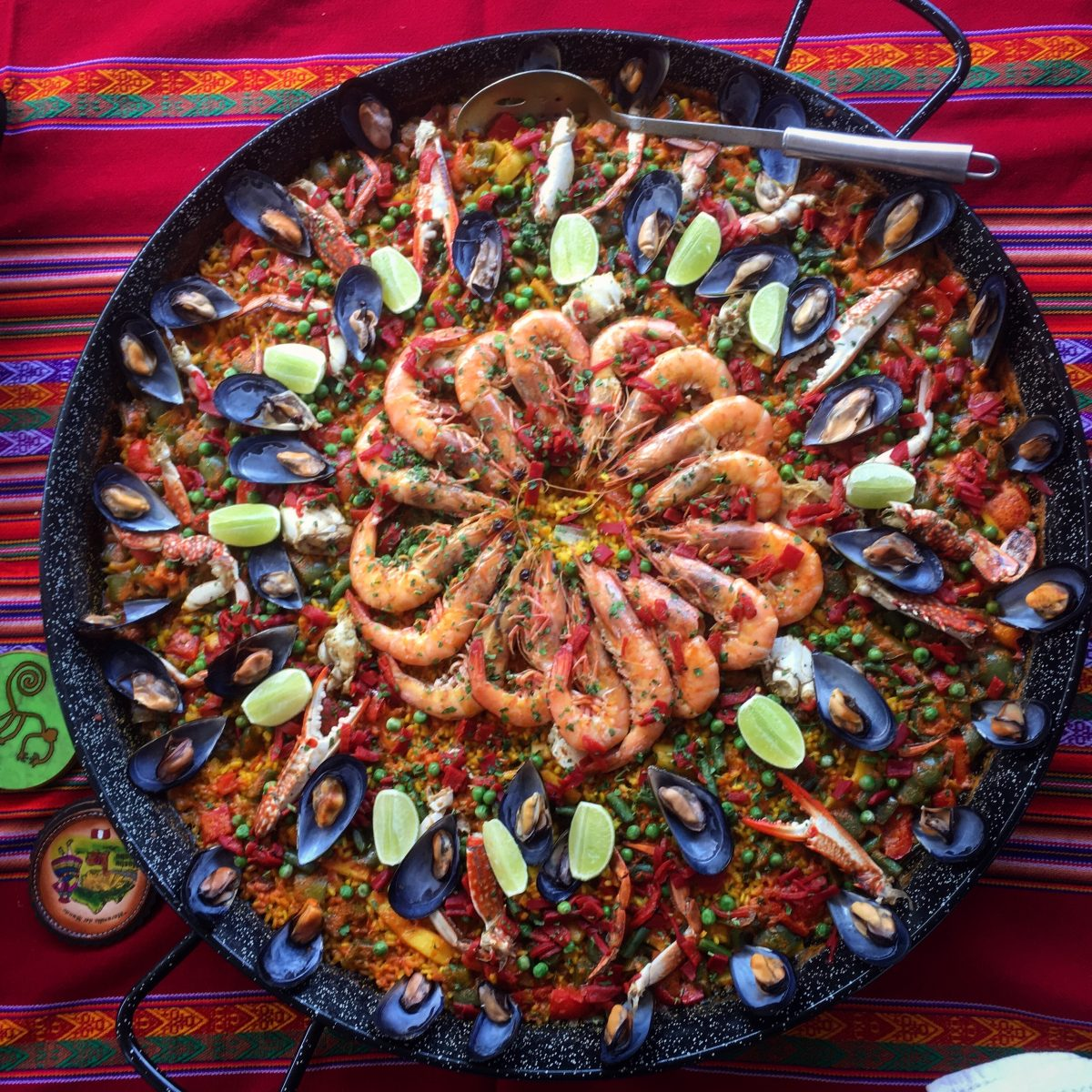 Seafood paella in Sydney