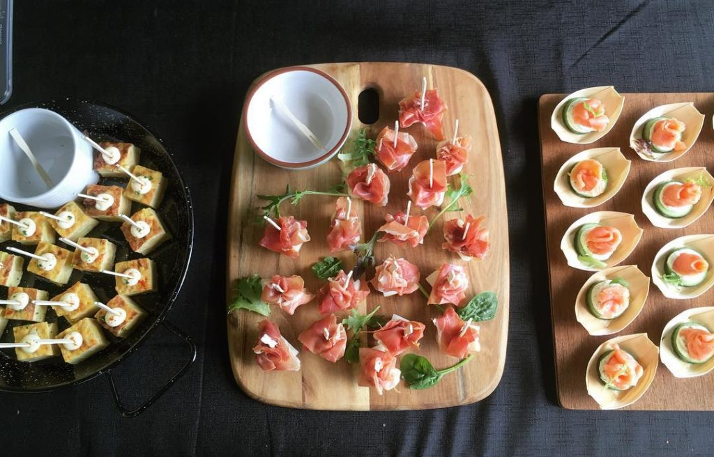 Tapas for corporate function